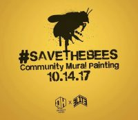 #SaveTheBees – Community Mural Painting – October 14th
